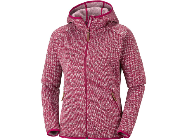 Columbia Chillin Fleece Non Hooded Jacket Damen pomegranate